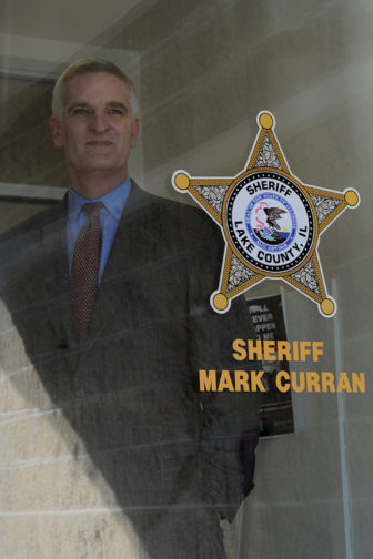 Lake County Sheriff Mark C. Curran Jr. said an audit showed that undocumented immigrants made up 20 percent of the inmates at the county jail. Enforcing immigration rules, he says, is a necessity for his office.