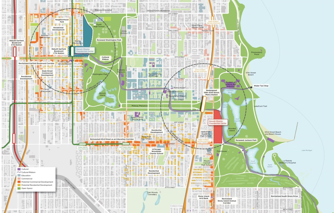 Potential Obama library neighbors seek benefits Chicago Reporter