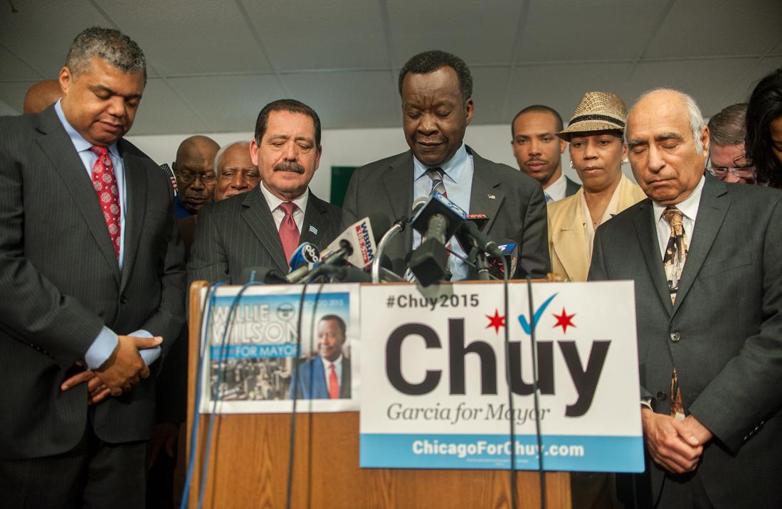 Wilson endorses Garcia for Mayor