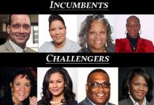 Aldermanic incumbents and challengers