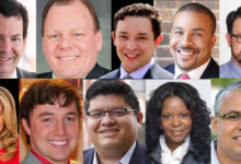 Aldermanic runoff candidates with no incumbent