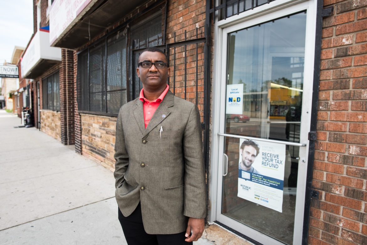 What can African American small business owners do to become competitve in the Chicago business community?
