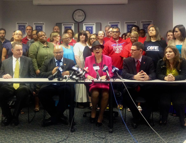 CTU press conference
