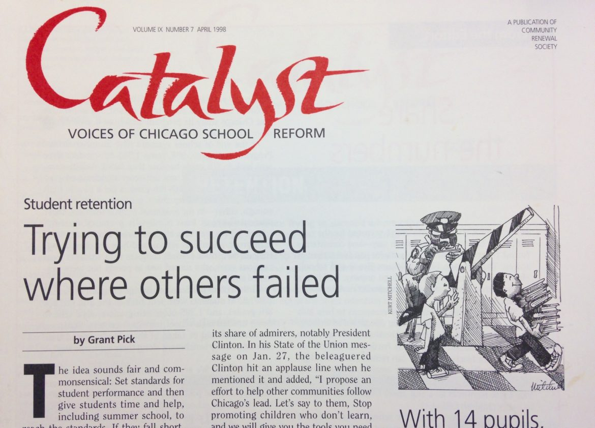 CPS weighs an end to student retention | Chicago Reporter