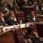 Ald. Jason Ervin (28th) questions Chicago police Superintendent Garry McCarthy on Oct. 6.