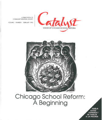 The first issue of Catalyst was published in February 1990.