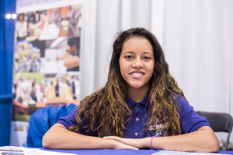 Margalees Cerdo left Noble's Bulls campus in the middle of her sophomore year, saying she was too stressed out by the network's strict discipline policy and wanted to have more fun in school. Cerda is now a junior in the International Baccalaureate program at Schurz High School, which she promoted during a high school fair last November.