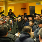 More than 200 employees of Republic Windows and Doors staged a six-day sit-in December 2008 when the factory was abruptly closed, resulting in a settlement. The occupation received international attention and became a symbol of workers' rights amid the economic recession.