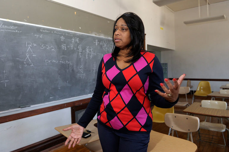 Deana Ervin is the executive director of the W.E.B. DuBois Learning Center, which bought a shuttered school on Kansas City's east side after leasing it for three years.