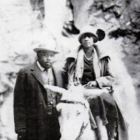 Amy Jacques Garvey with her husband, Marcus.