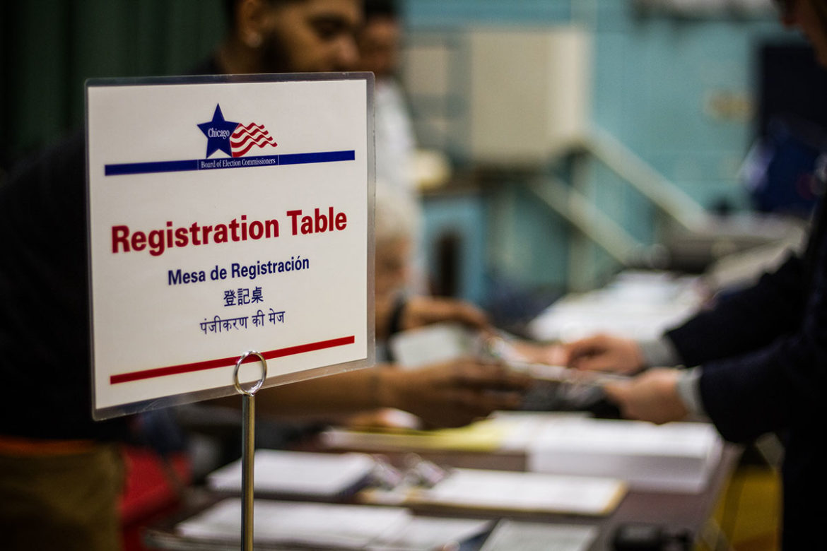 When is the last day to register to vote in chicago illinois