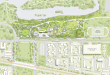 Obama Presidential Center site plan