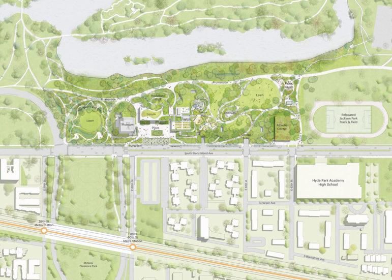 Obama Presidential Center site plan
