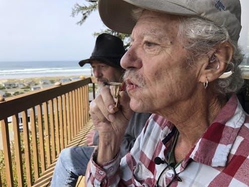 Bill Blazina, 73, uses a high-potency marijuana oil as a medical marijuana patient, but he can't afford it at a recreational marijuana store.