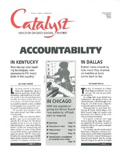 Catalyst Chicago issue cover, published Nov 1995