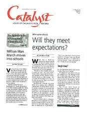 Catalyst Chicago issue cover, published Mar 1996