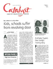 Catalyst Chicago issue cover, published Apr 1996