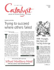 Catalyst Chicago issue cover, published Apr 1998