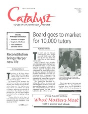 Catalyst Chicago issue cover, published May 1998