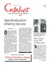 Catalyst Chicago issue cover, published Jun 1998