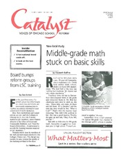 Catalyst Chicago issue cover, published Sep 1998