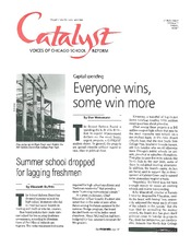Catalyst Chicago issue cover, published Nov 1998