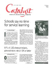 Catalyst Chicago issue cover, published Apr 1999