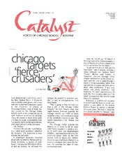 Catalyst Chicago issue cover, published Oct 1999