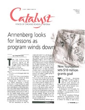 Catalyst Chicago issue cover, published Mar 2000