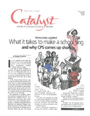 Catalyst Chicago issue cover, published Oct 2000