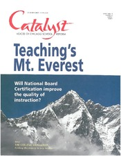 Catalyst Chicago issue cover, published Oct 2001