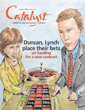 Catalyst Chicago issue cover, published Feb 2003