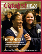 Catalyst Chicago issue cover, published Nov 2007