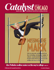 Catalyst Chicago issue cover, published Mar 2008