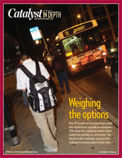 Catalyst Chicago issue cover, published Nov 2008