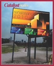 Catalyst Chicago issue cover, published Aug 2010
