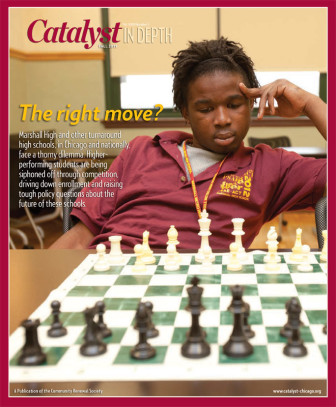 Catalyst Chicago issue cover, published Oct 2011
