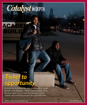 Catalyst Chicago issue cover, published Feb 2013
