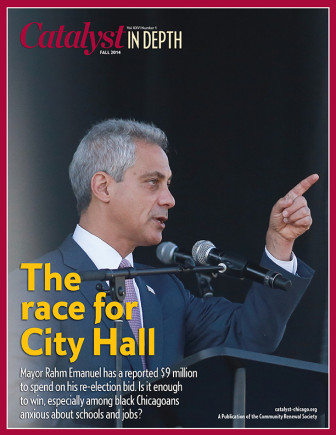 Catalyst Chicago issue cover, published Nov 2014
